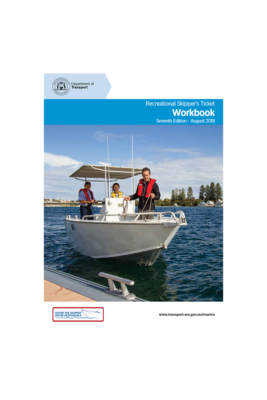 Recreational Skippers Ticket Workbook cover