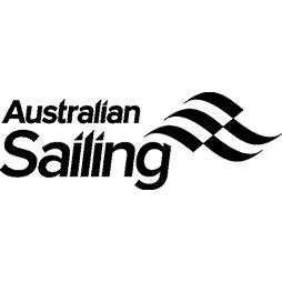 Australian Sailing small black logo