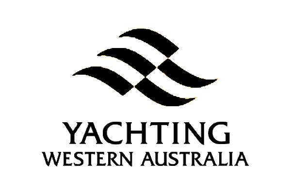 Yachting Western Australia black logo
